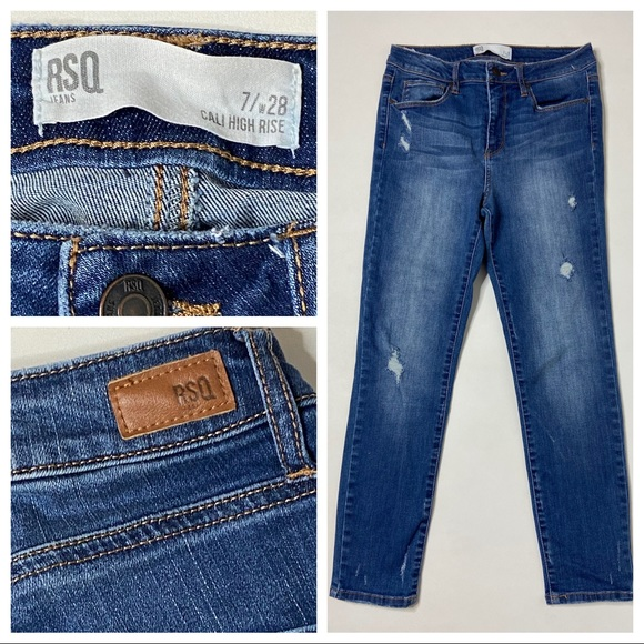 RSQ Denim - RSQ Jeans Cali High Rise Ankle Skinny 7 / 28